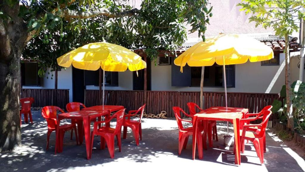 A restaurant or other place to eat at Quintas do Sol