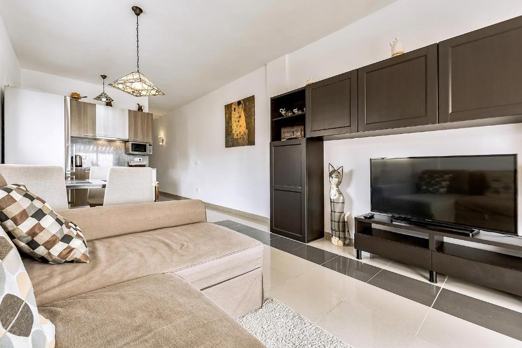 A seating area at Mirador del Paraiso 213 - 2 bedrooms