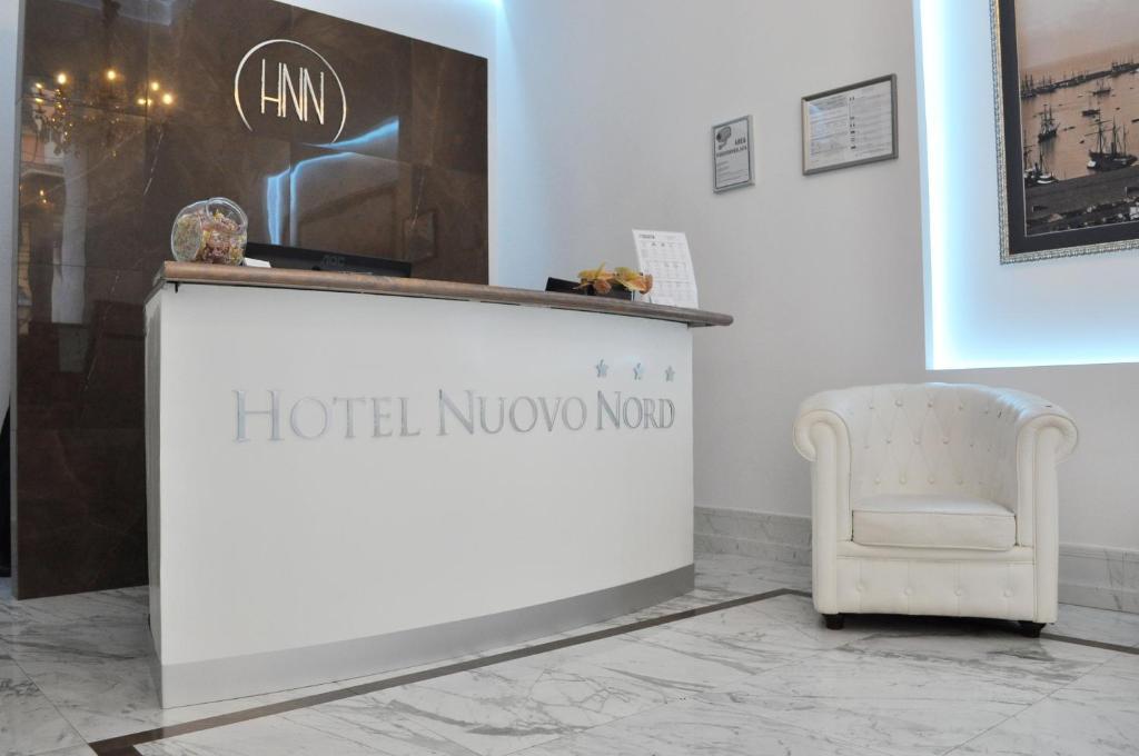 El vestíbulo o zona de recepción de Hotel Nuovo Nord