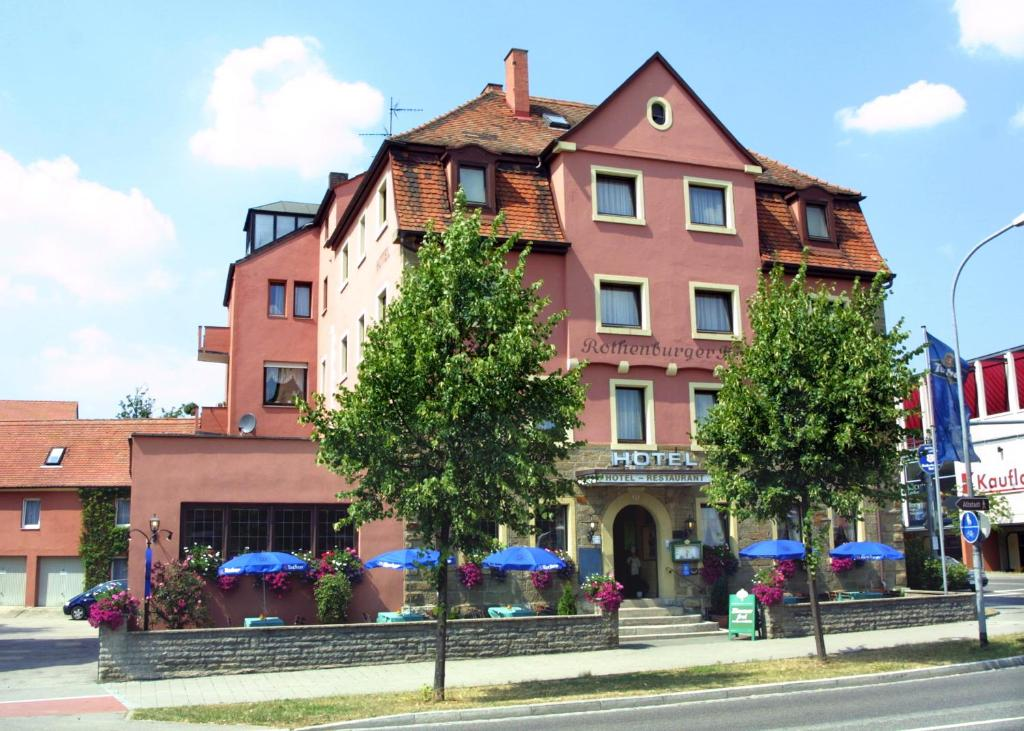 Hotel Rothenburger Hof Deutschland Rothenburg Ob Der Tauber