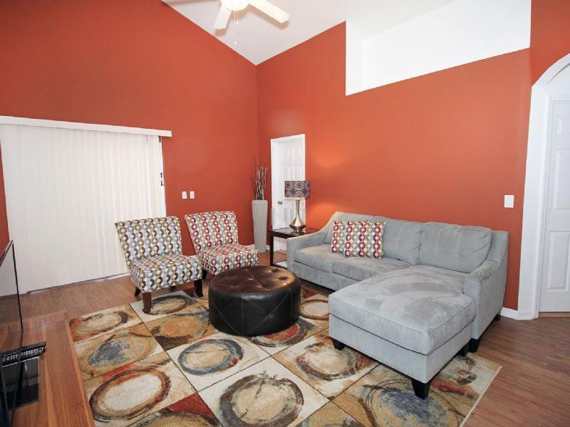 Coin salon dans l'établissement 4723 Crystal Cove 4 Bedroom Villa
