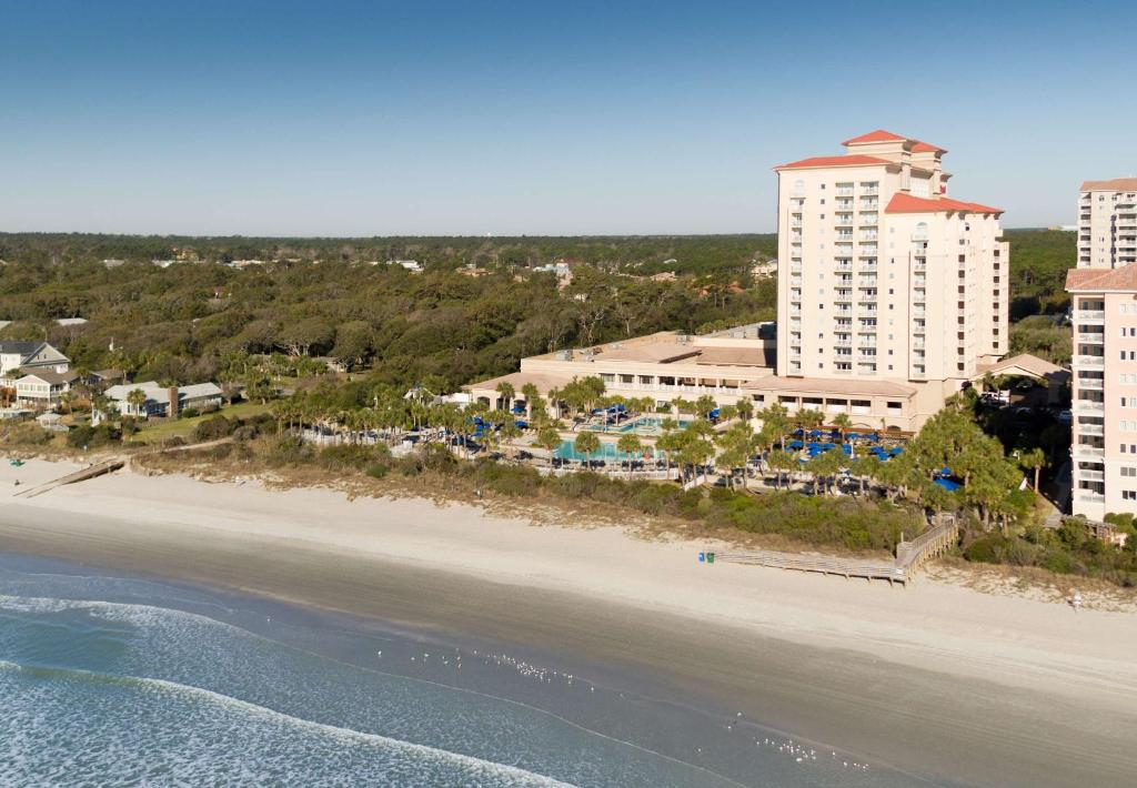 A bird's-eye view of Myrtle Beach Marriott Resort at Grande Dunes