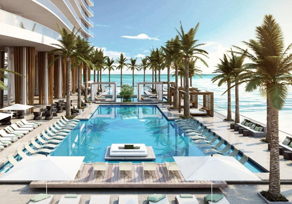 hide beach residences hollywood precios actualizados 2018. Black Bedroom Furniture Sets. Home Design Ideas
