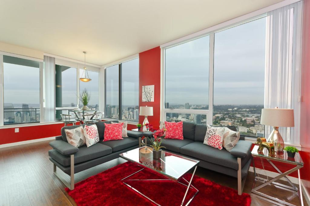 Apartment Downtown San Diego Vip High Rise 3br 2ba Suite Ca