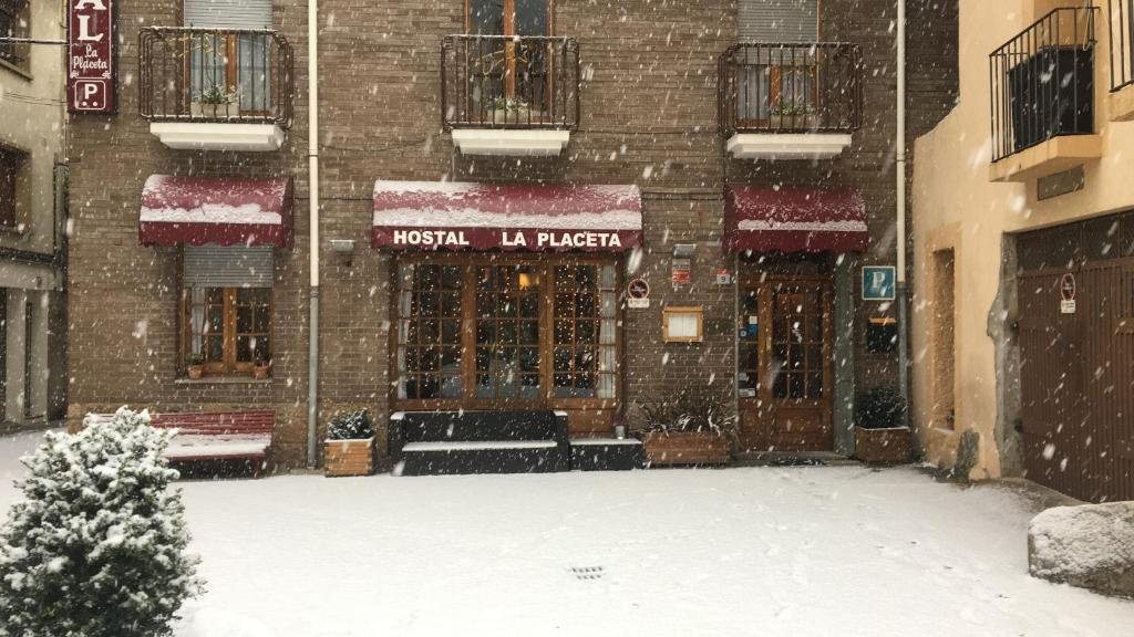 Hostal La Placeta kapag winter
