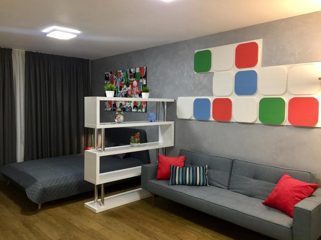 Гостиная зона в Matilda apartment U MUZEA