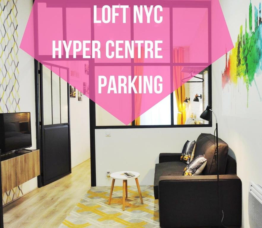 Apartment Loft NYC, Hyper centre, Parking, Nantes, France - Booking.com
