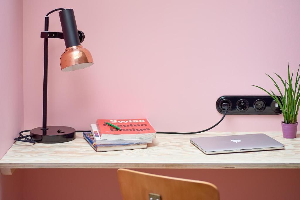 Телевизор и/или развлекательный центр в Покровка 6 Отель
