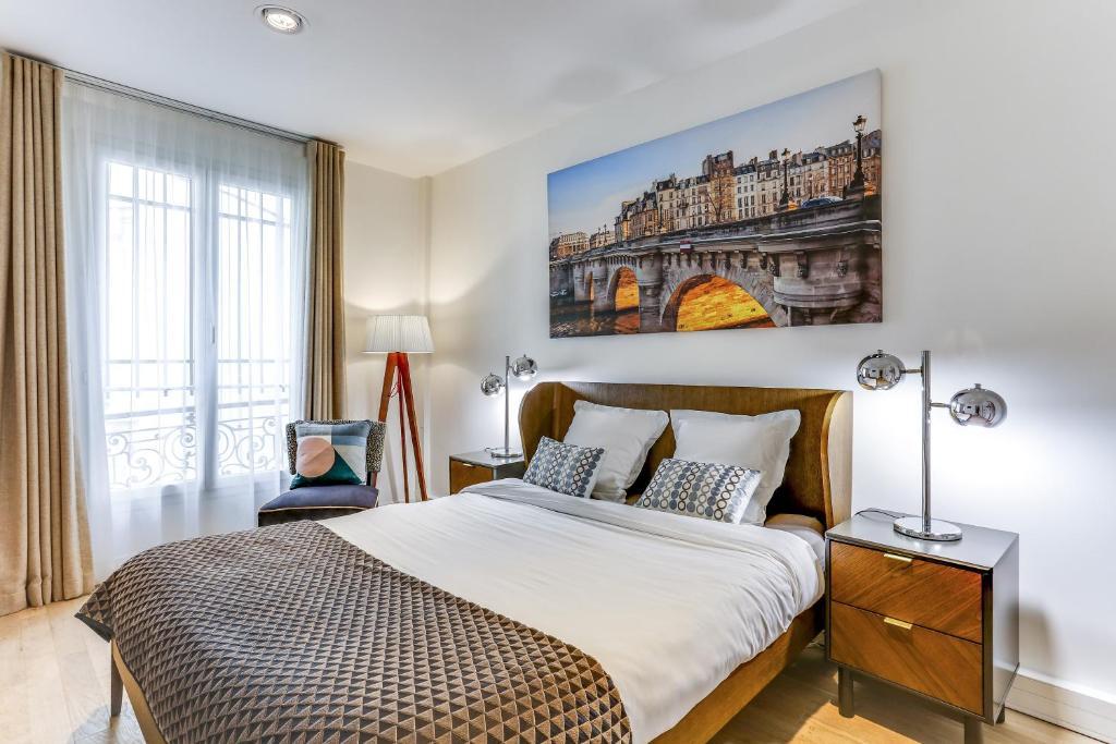 2 Schlafzimmer Ferienwohnung Nahe Paris