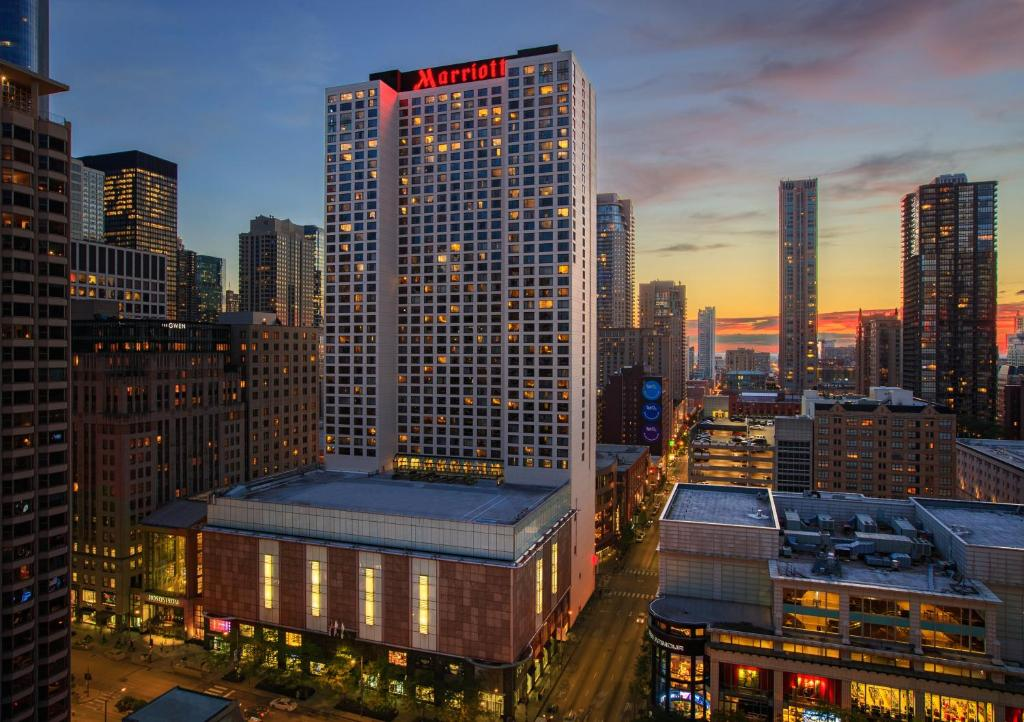 Chicago Marriott Downtown Magnificent Mile Reserve Now Gallery Image Of This Property
