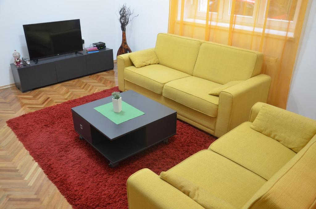 A seating area at Sarajevo City Center
