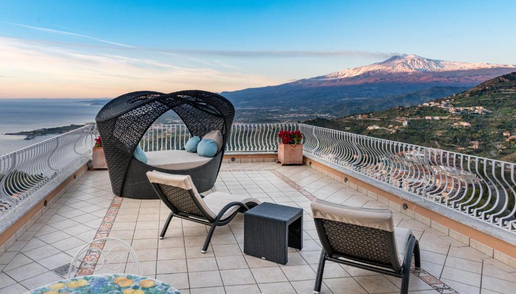 Balcone o terrazza di Villa Le Terrazze Charming Rooms