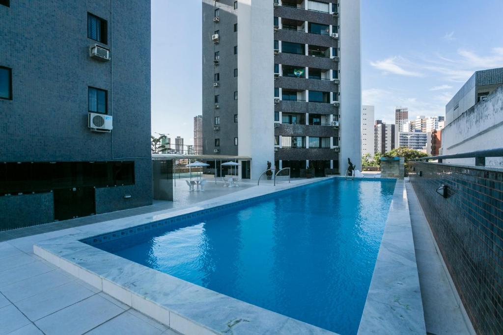 The swimming pool at or near Bessa Paradise - 3 quartos climatizados