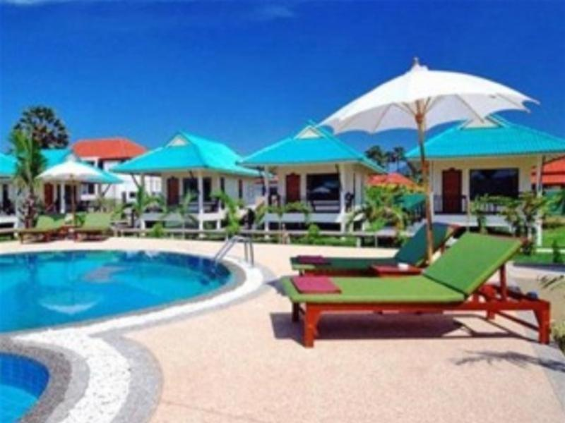 The swimming pool at or near N.T. Lanta Resort