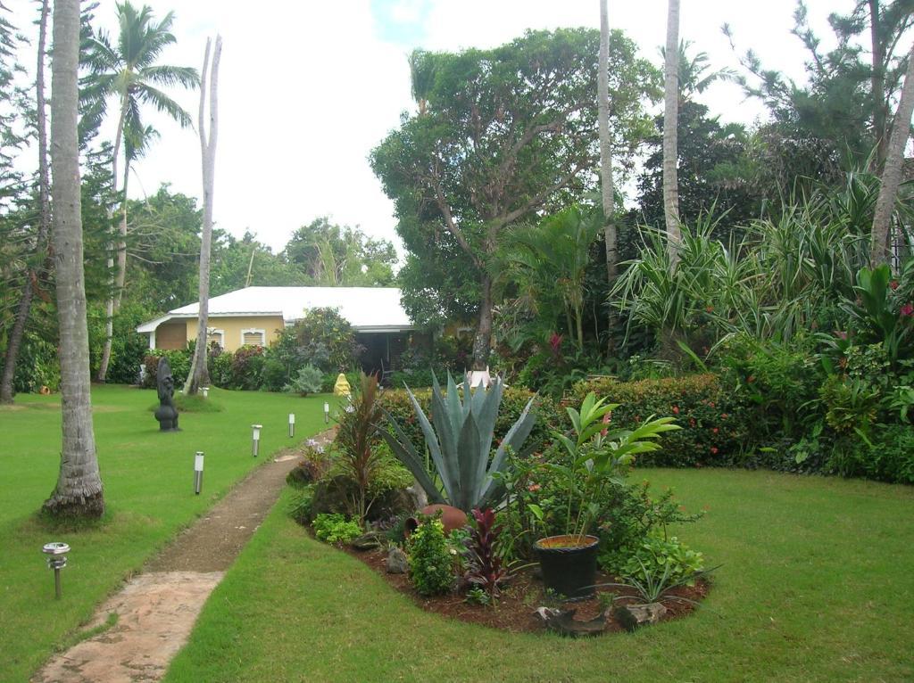 A garden outside Casa Por Que No