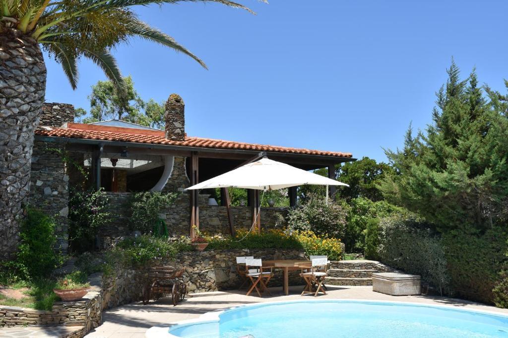 The swimming pool at or near La casa di Camilla