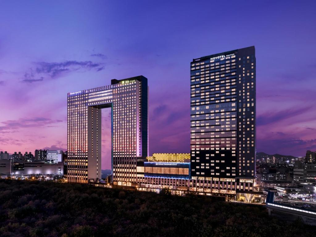 ノボテル スイーツ アンバサダー ソウル 龍山(Novotel Suites Ambassador Seoul Yongsan)