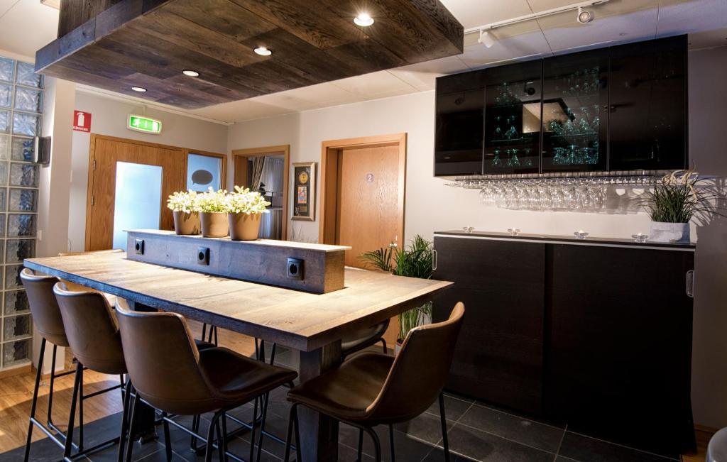 A kitchen or kitchenette at B14 Hostel