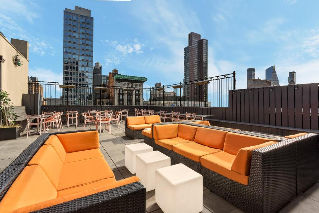 The New Yorker Hotel Rooftop