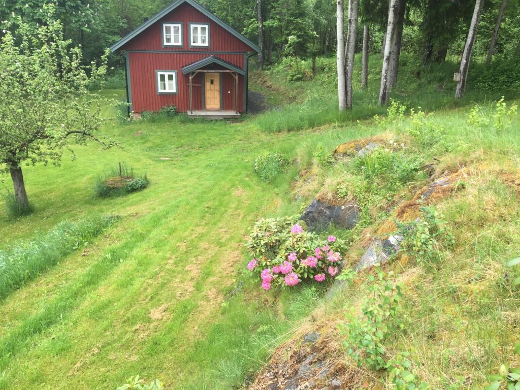 En trädgård utanför The Mill