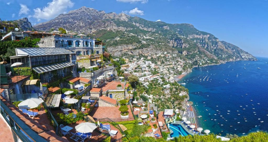 Hotel le agavi positano italy for Hotel luxury amalfi