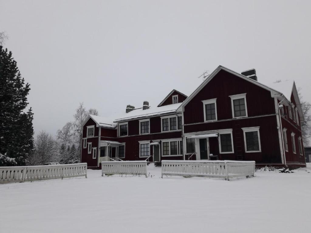 Suvannonrannan Majoitukset during the winter