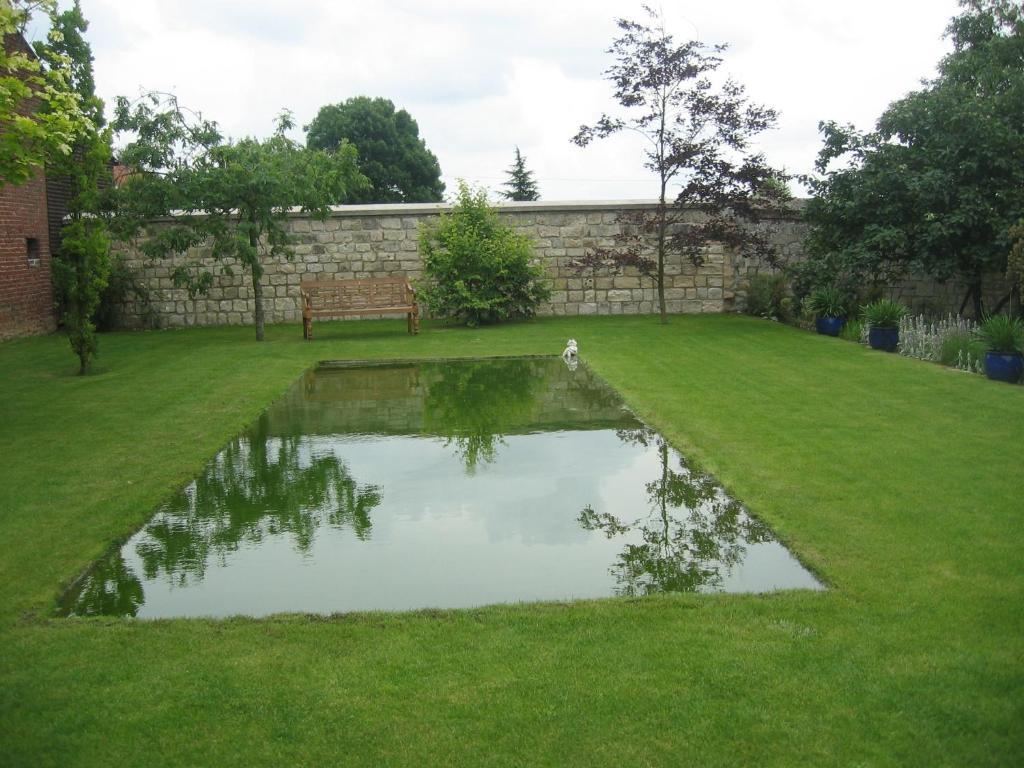 Jardin de l'établissement Le Clos Xavianne
