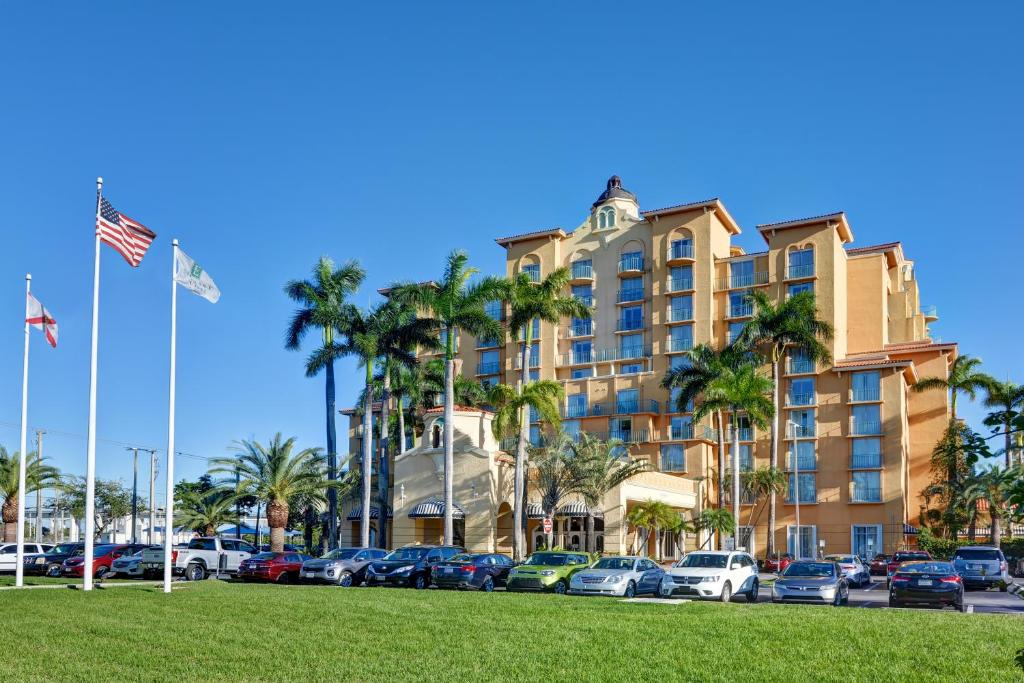 The Embassy Suites by Hilton Miami International Airport.