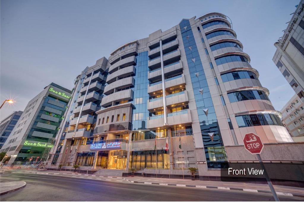 Skyline deluxe hotel apt dubai uae for Hotel dubai booking