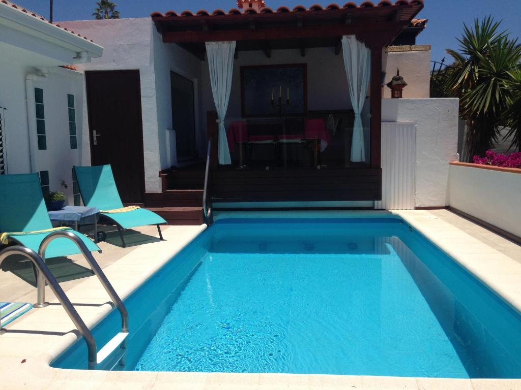 Luxury Villa Pool with Jacuzzi and Sauna Ocean view, Chayofa, Spain ...