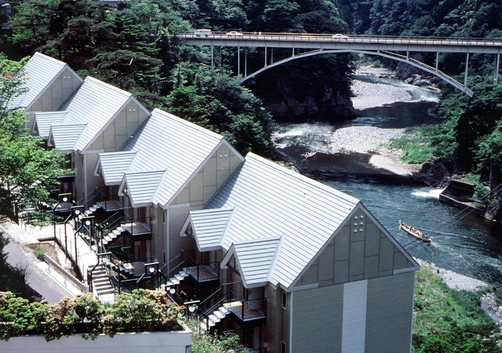 A bird's-eye view of Kinugawa Park Cottage