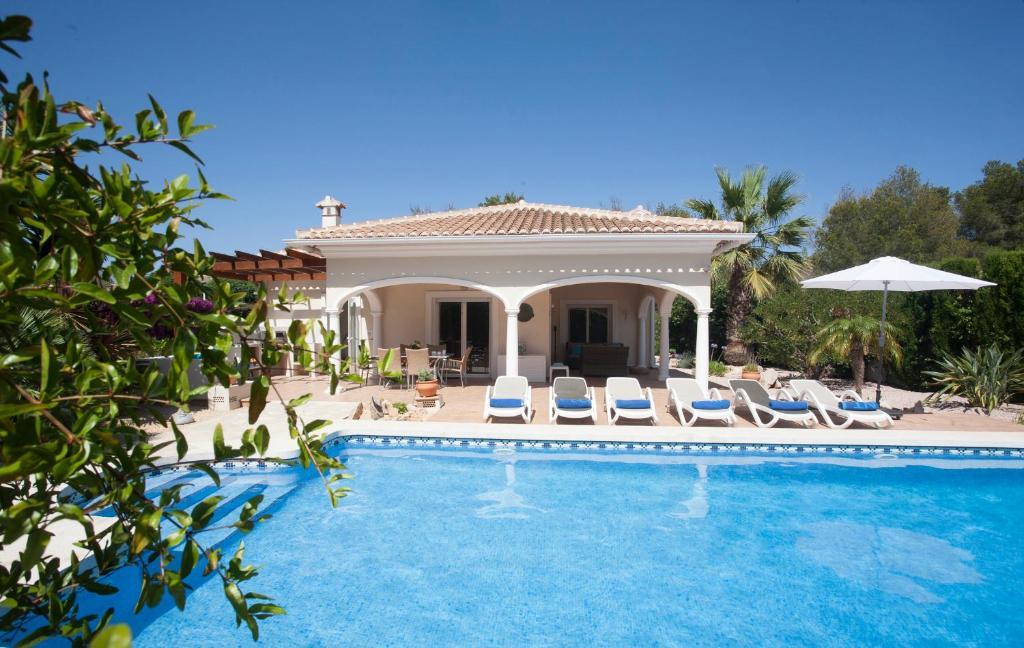 Javea Spain Map.Villa Acheron Javea Spain Booking Com