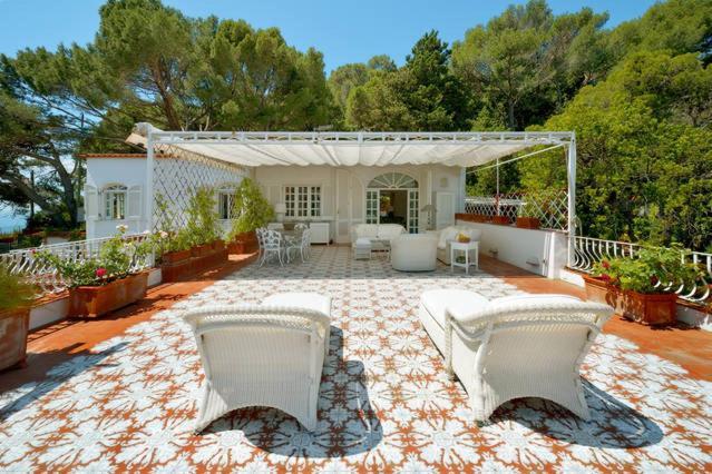 Villa la terrazza capri italy - Villa la terrazza ...
