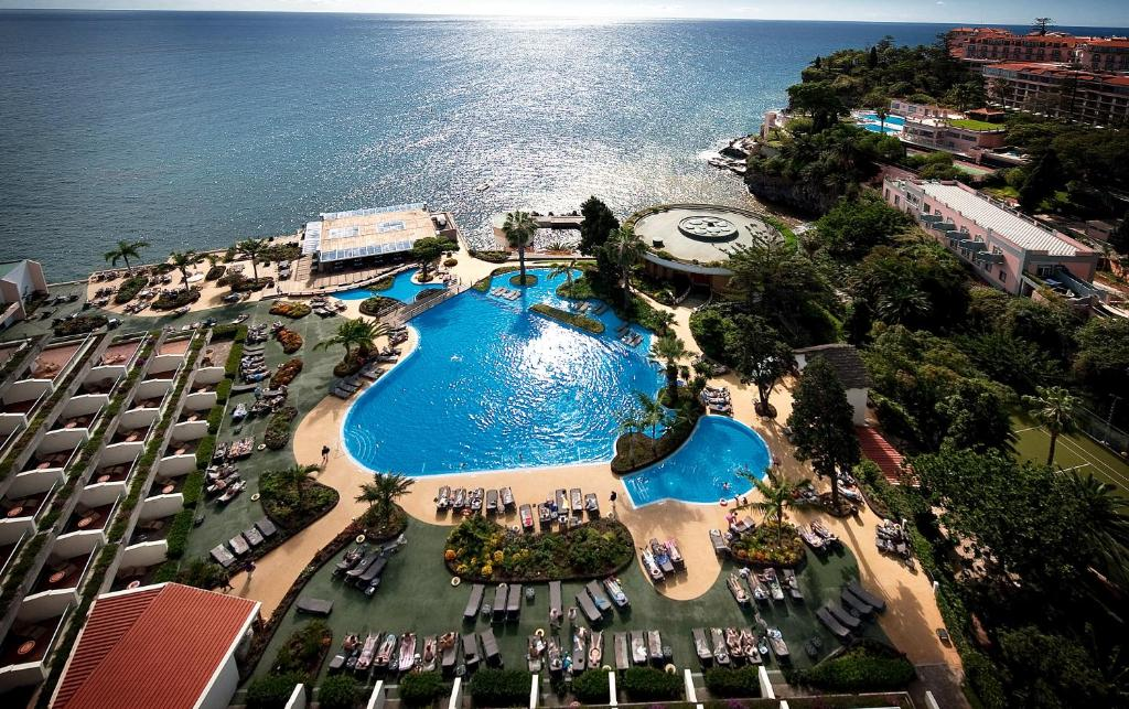 A bird's-eye view of Pestana Carlton Madeira Ocean Resort Hotel