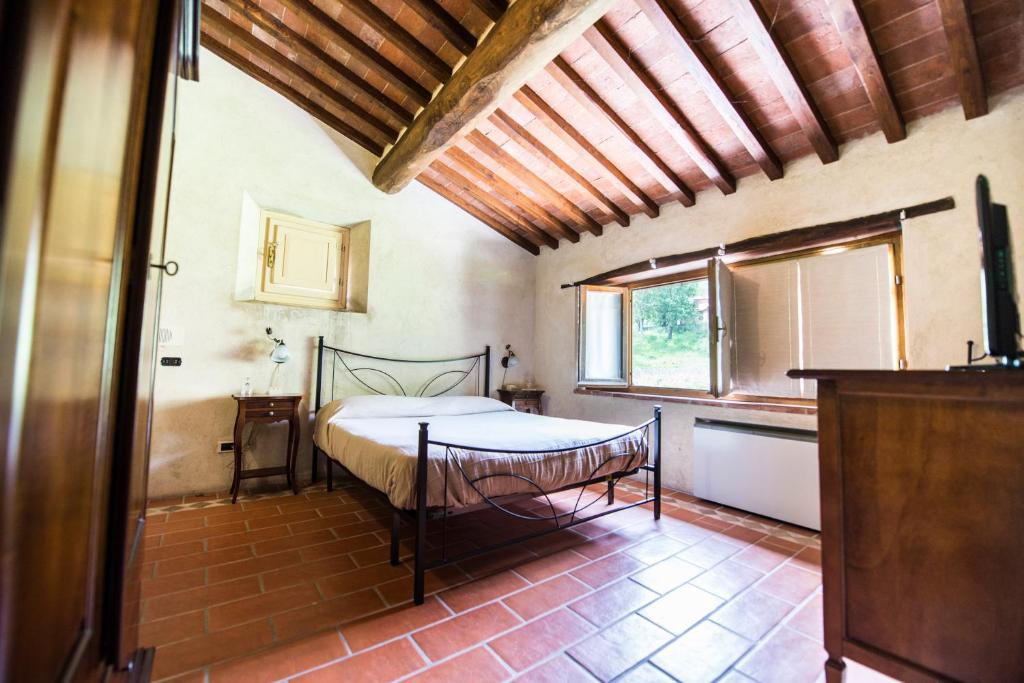 A bathroom at Bernardone