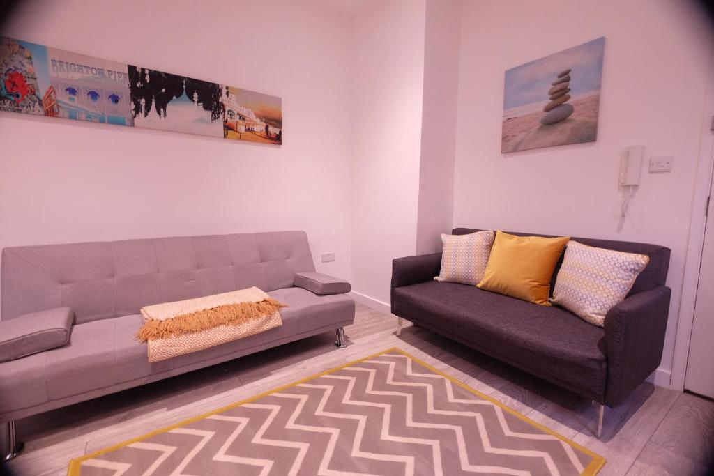 Modern Flat In Vibrant Kemp Town -, Brighton & Hove, UK - Booking.com