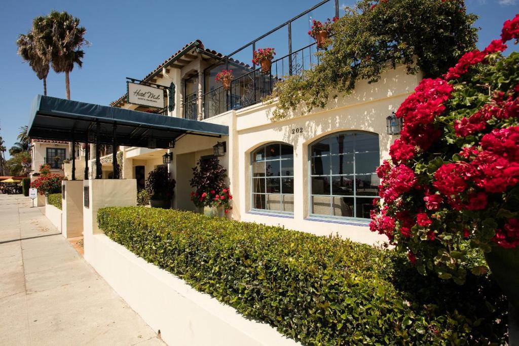 The Hotel Milo Santa Barbara.