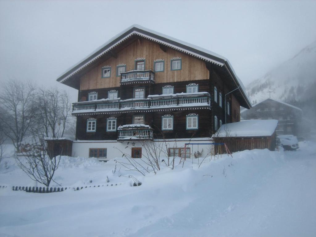 Haus Ursula during the winter