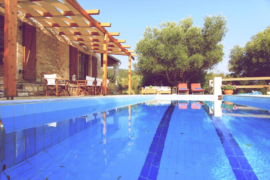 The swimming pool at or near Villa Mystique