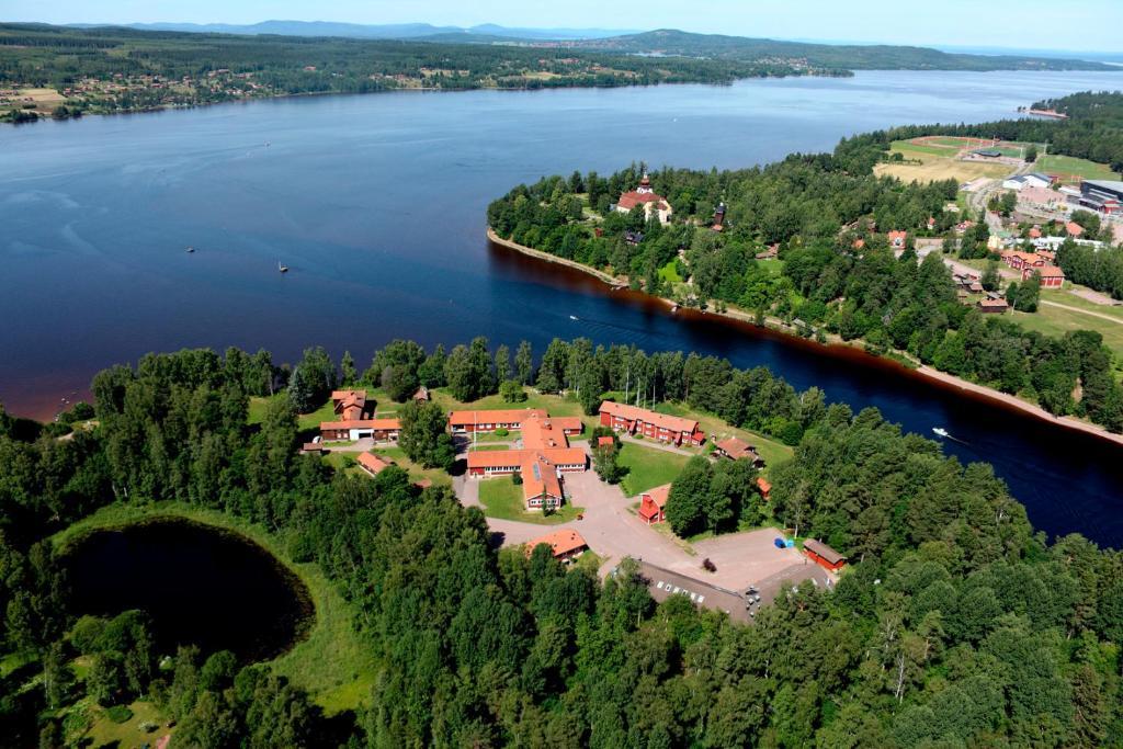 A bird's-eye view of Leksands Folkhögskola