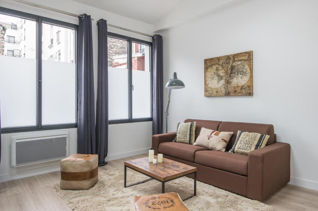 L\'Industriel, loft de 2 chambres, Villa Saint Charles, Paris, France ...