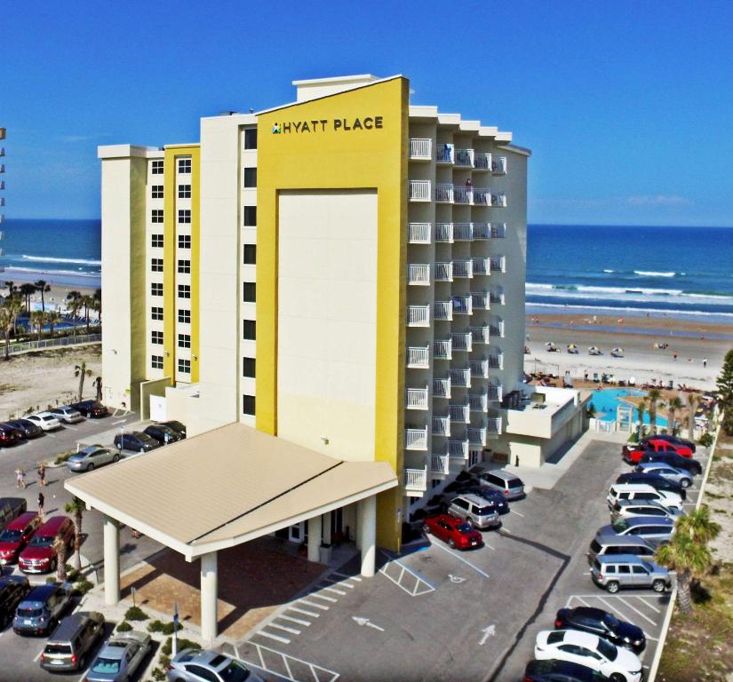 hotel hyatt place oceanfront daytona beach fl. Black Bedroom Furniture Sets. Home Design Ideas