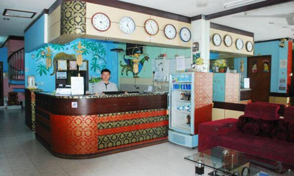 The lobby or reception area at Mixay Chitchareune Guesthouse