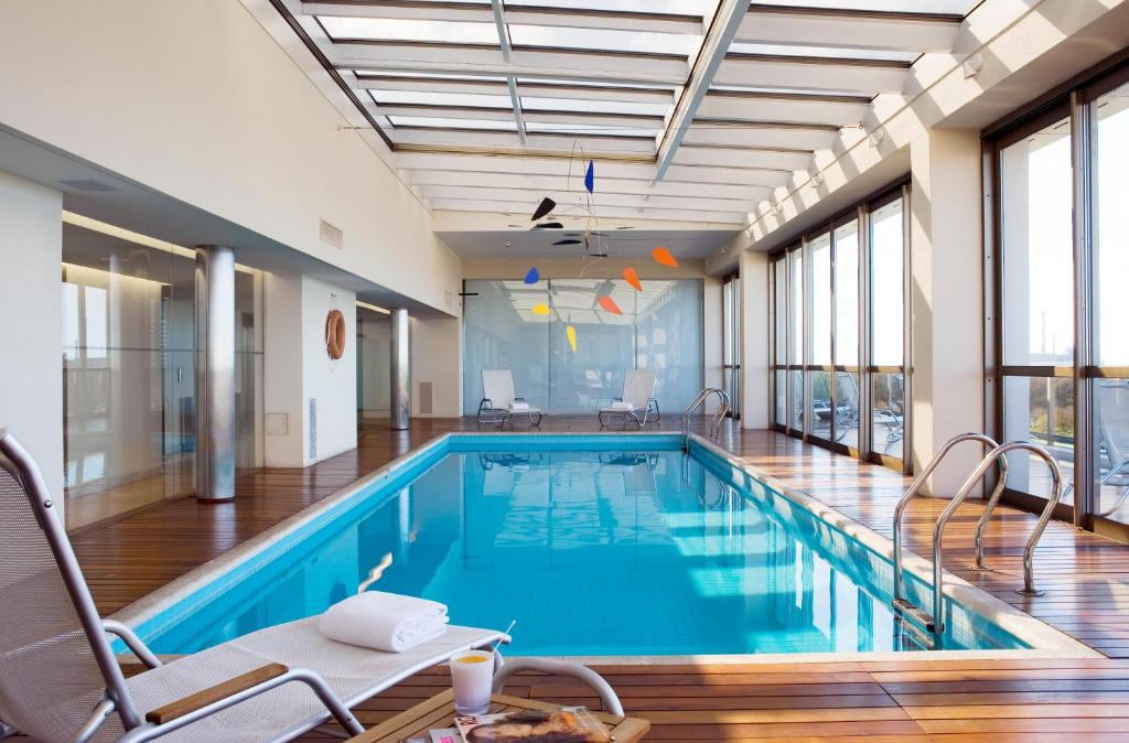 The swimming pool at or near Hotel Madero Buenos Aires