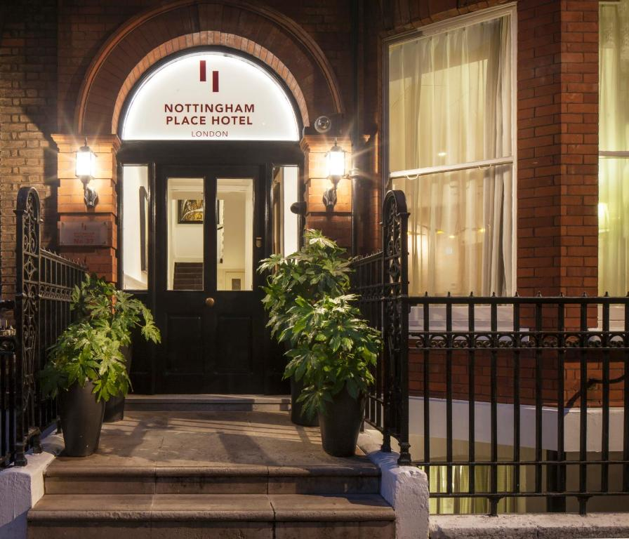 Nottingham Apartments: Nottingham Place Hotel, Londra