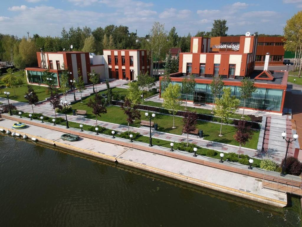 Zagorodny Klub Water House с высоты птичьего полета