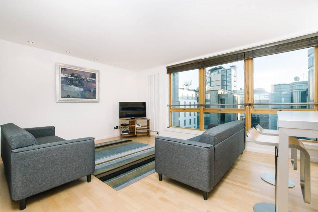 Apartment City Centre 2bed With Free Parking Elevator Edinburgh