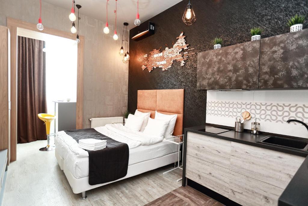 Гостиная зона в Apart-hotel REHOME
