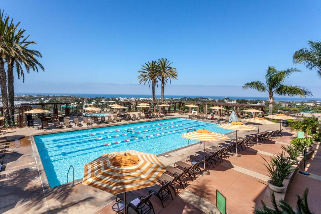 A view of the pool at Grand Pacific Palisades Resort & Hotel or nearby