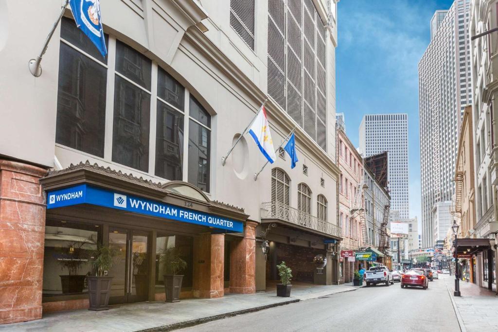 Wyndham New Orleans French Quarter.